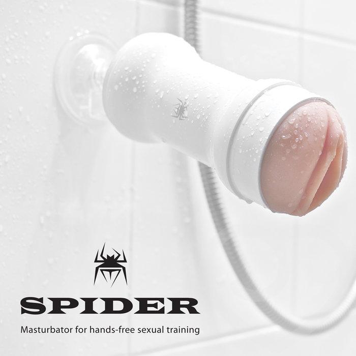 Âm đạo giả cao cấp Spider loại gắn tường điều khiển từ xa