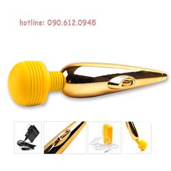 Máy massage âm đạo mạ vàng cao cấp- Chày rung av04